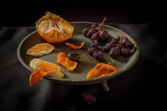 Blood Orange and Grapes
