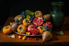 Pomegranate and Persimmons