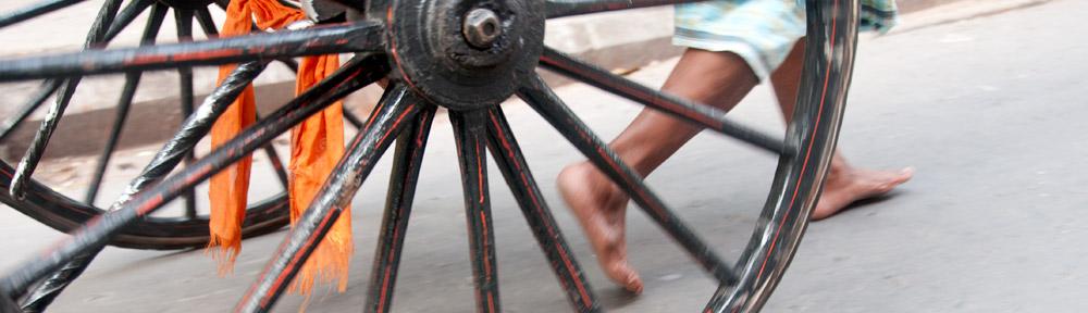 The Rickshaw Wallahs of Kolkata, India