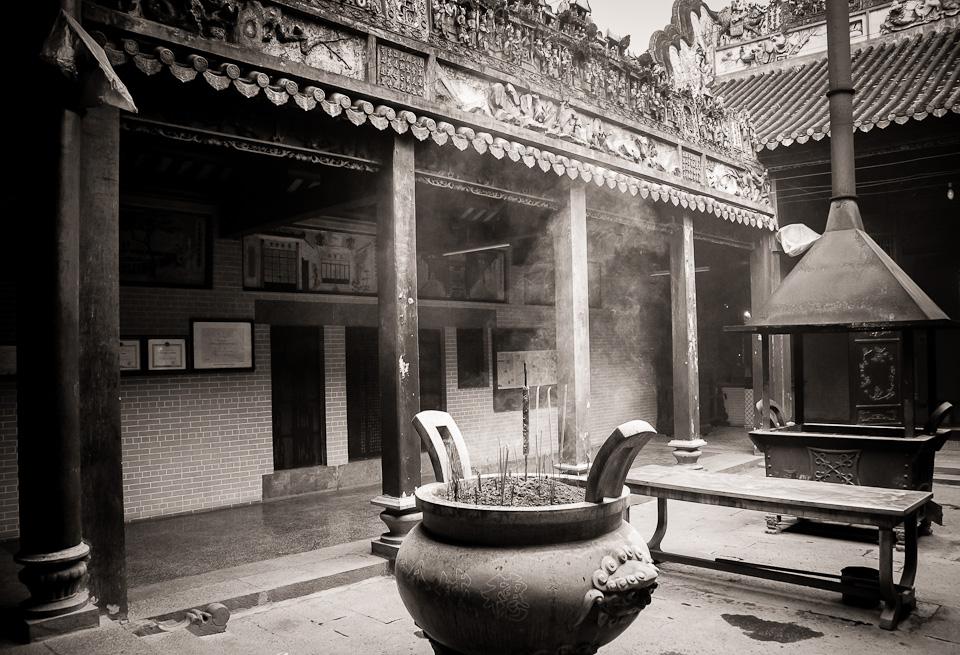 Weekly Photo Challenge ~ Inside ~ a Buddhist Temple, Saigon