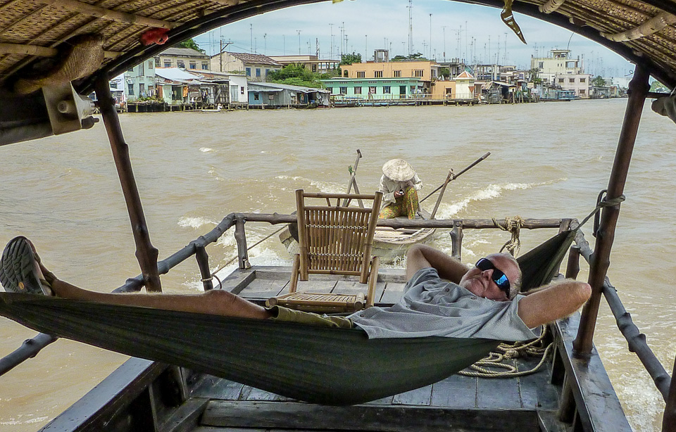Yours Truly Dreaming - Mekong River, Vietnam