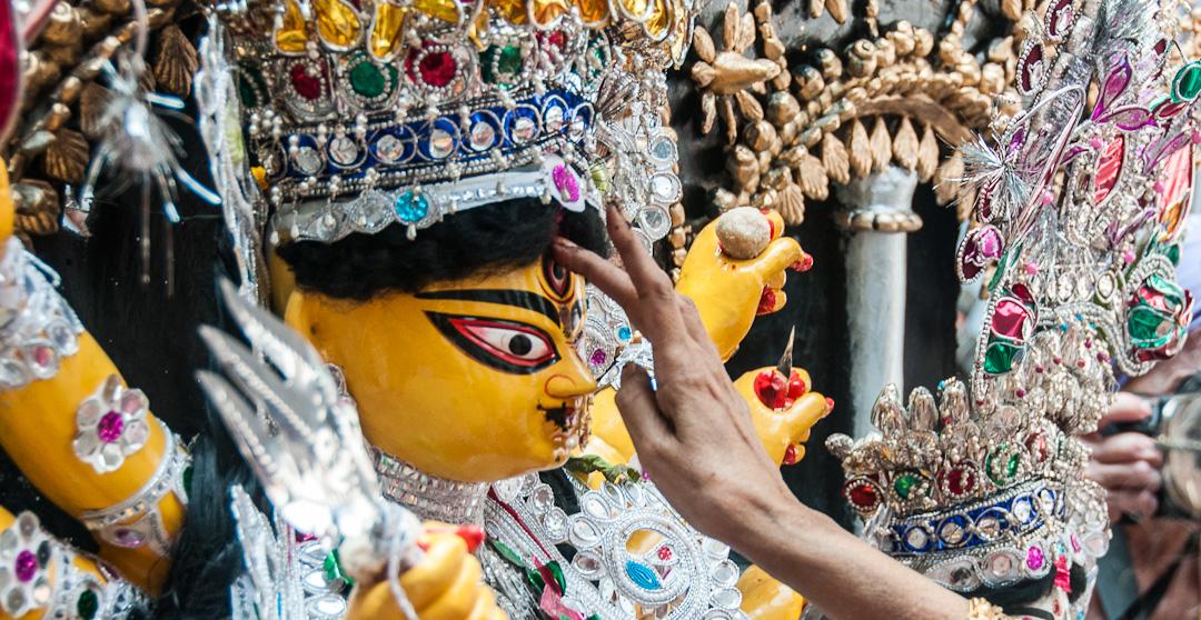 Durga Puja, the Worship of the Hindu Goddess Durga, Returns to Calcutta, India (part 2)