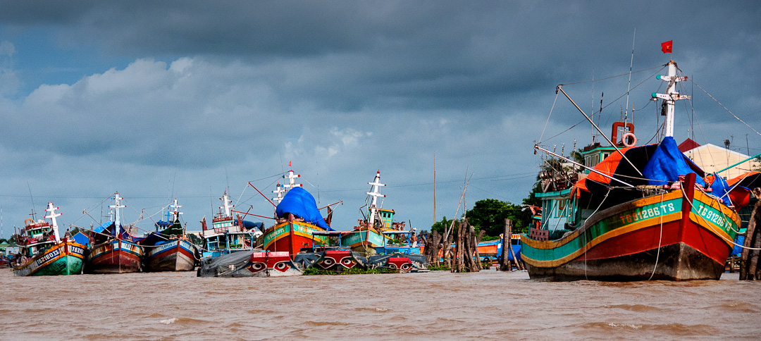 Weekly Photo Challenge – Every Day Life Along the Mekong River, Vietnam