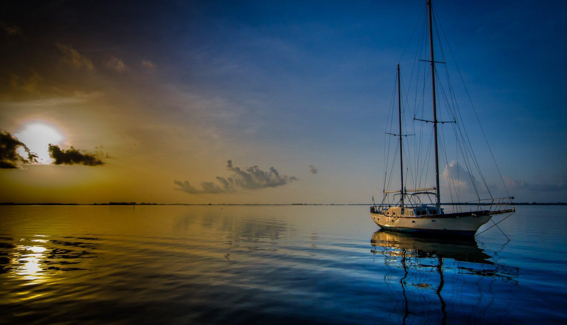 Sailboat and Sunrise