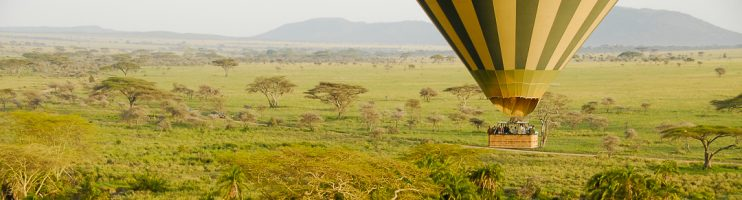 Up, Up and Away – Ballooning Over the Serengeti