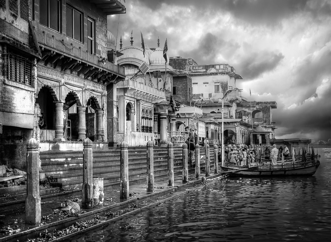 Images of India – The Ghats at Mathura