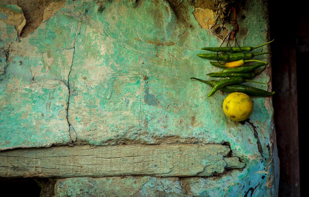 Texture, Old Delhi, India