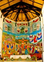 The Murals of Holy Trinity Cathedral, Port-au-Prince, Haiti