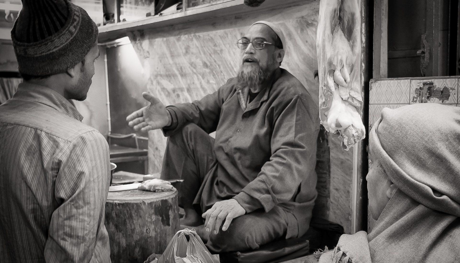 Butcher Shop – Old Delhi