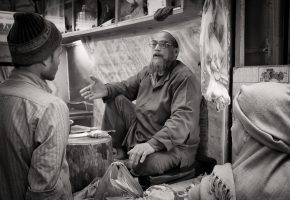 Butcher Shop – Old Delhi