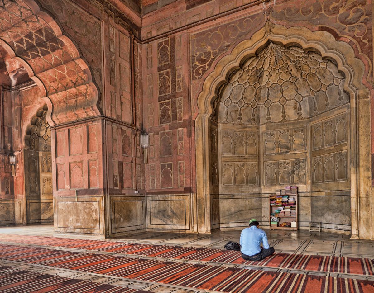 Jama Masjid, New Delhi, India