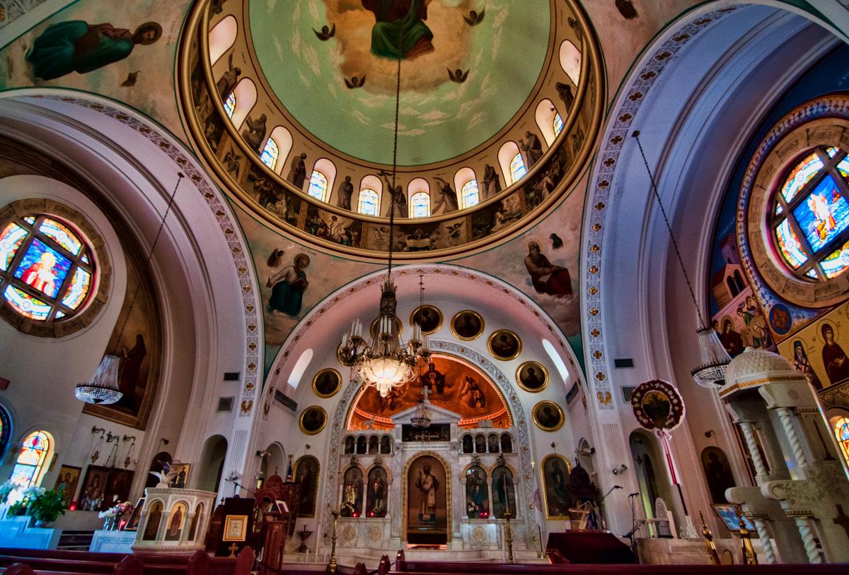 St. Nicholas Greek Orthodox Cathedral, Tarpon Springs, Florida