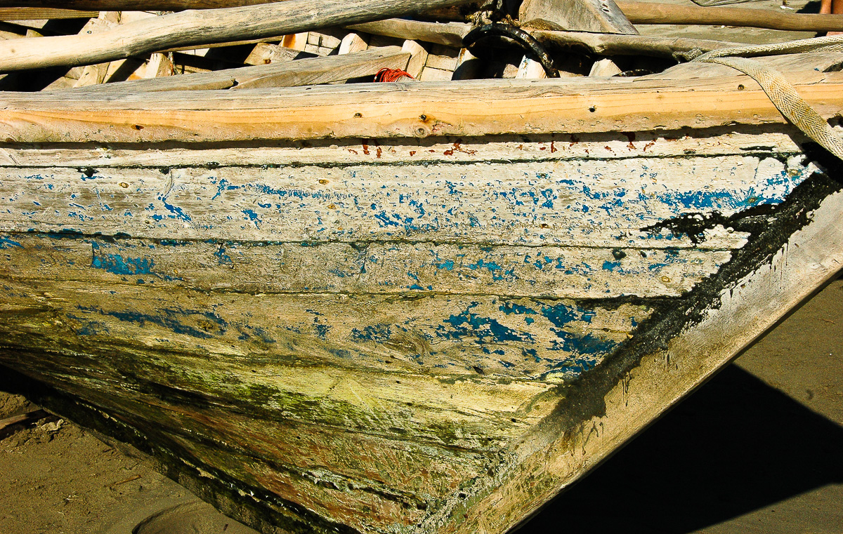 Fishing Boat near Les Cayes, Haiti