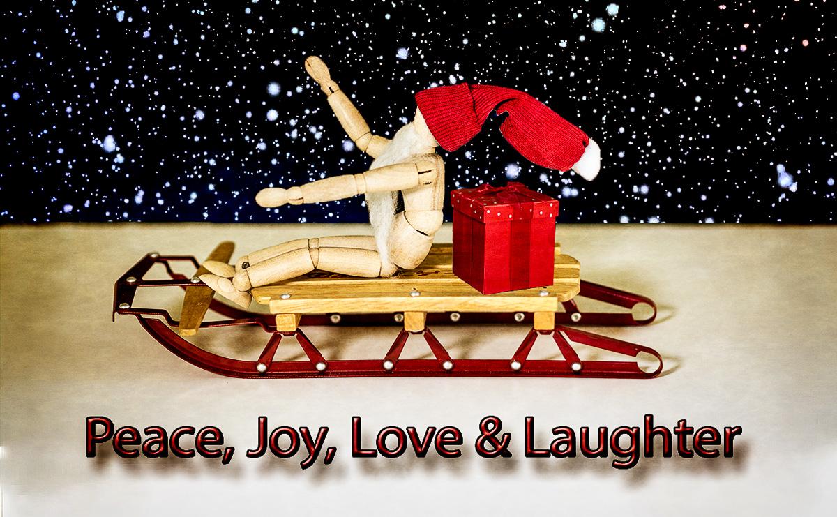 Peace, Joy, Love & Laughter