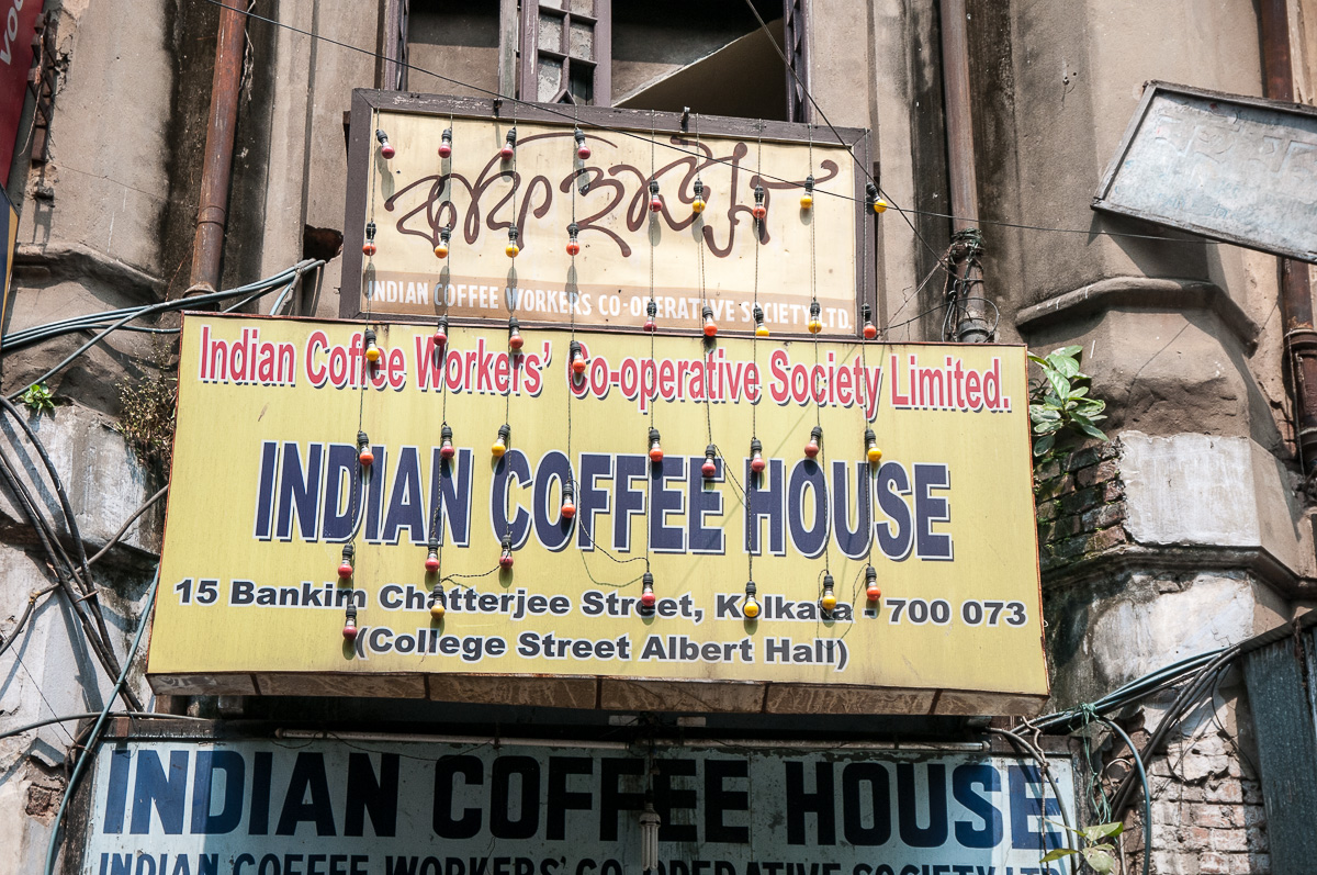 Indian Coffee House on College Street