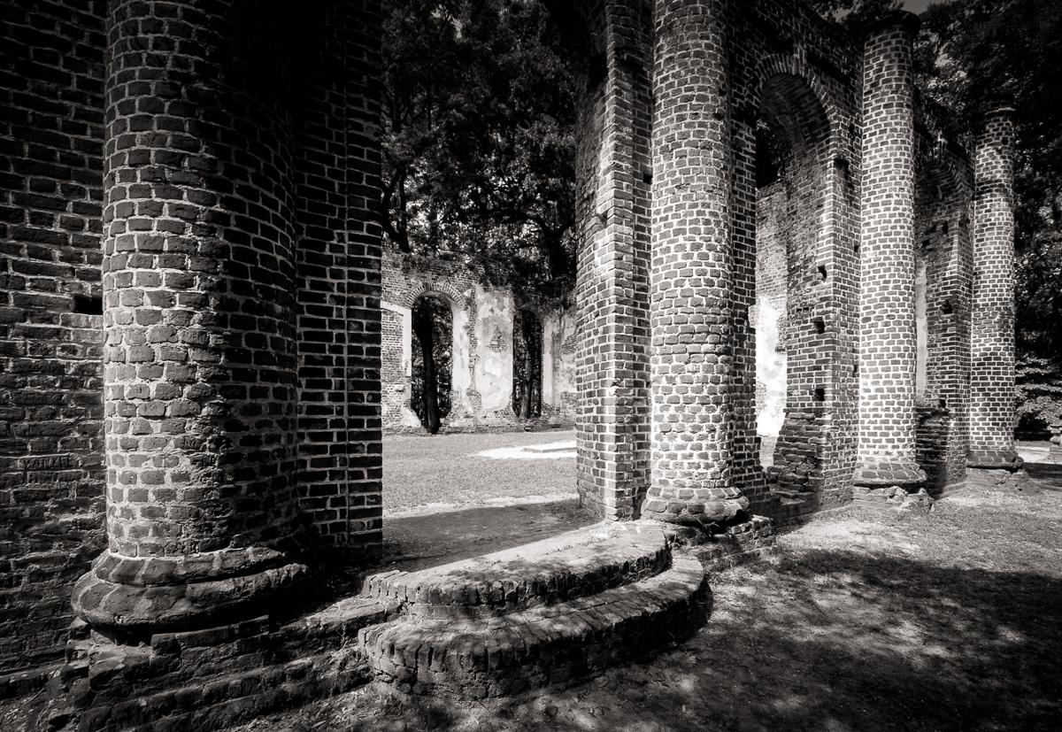 Sheldon Church Ruins, South Carolins
