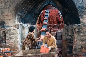 Inside a Vietnamese Brick Kiln