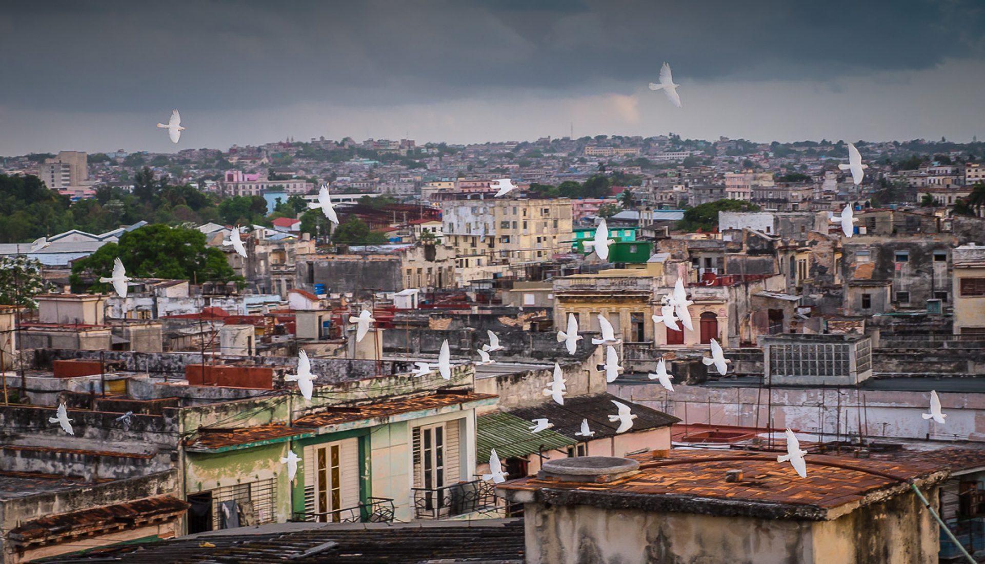 A Split Second Over Havana