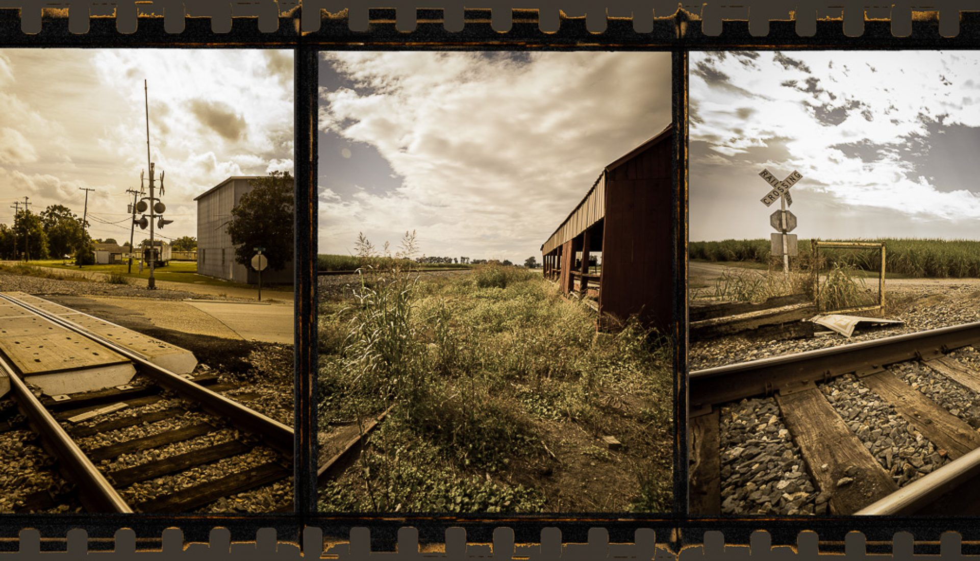 Deep South Rails – a Triptych