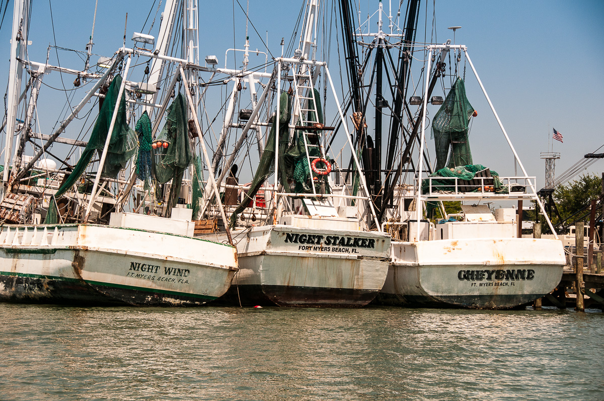 Shrimp Boats, Ft Myers photos
