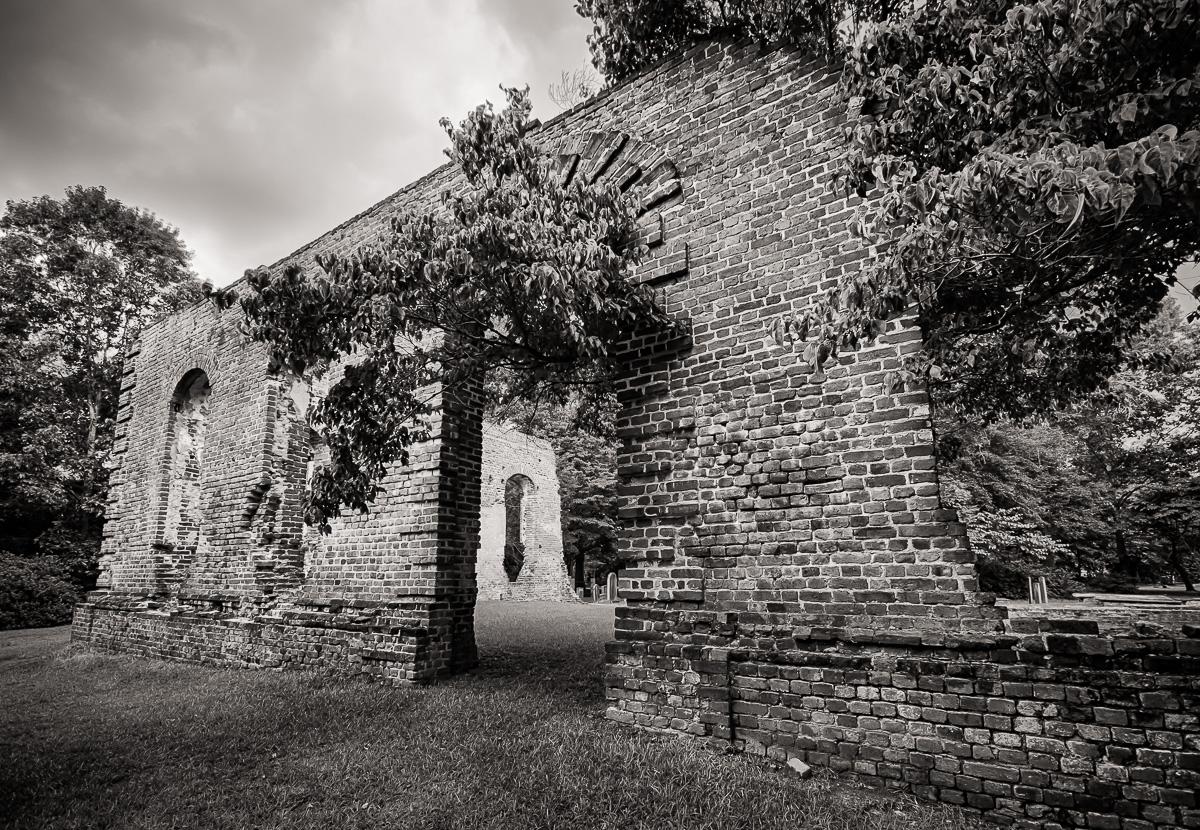 Biggin Church Ruins – Along the Road Less Traveled