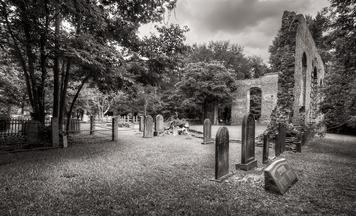 Biggin Church Ruins photo