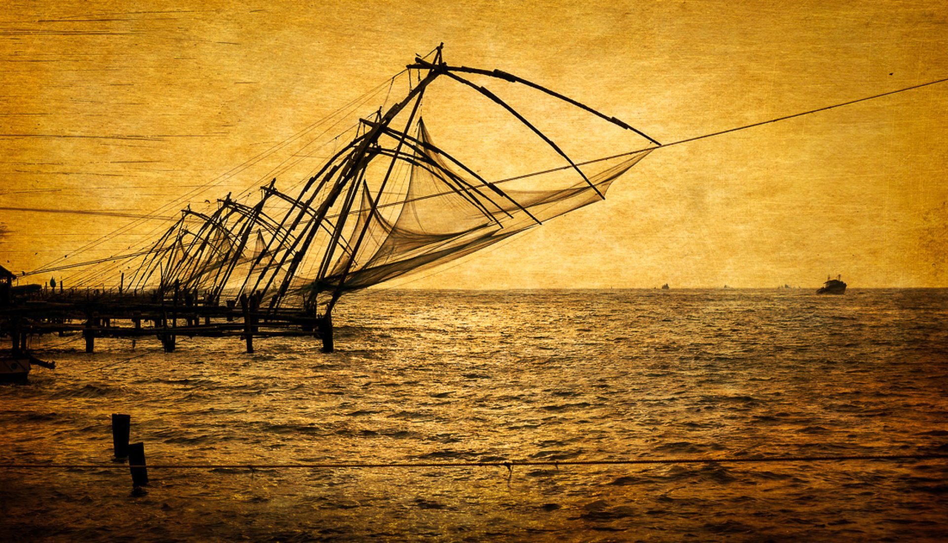 Along the Malabar Coast, Silhouettes of the Past