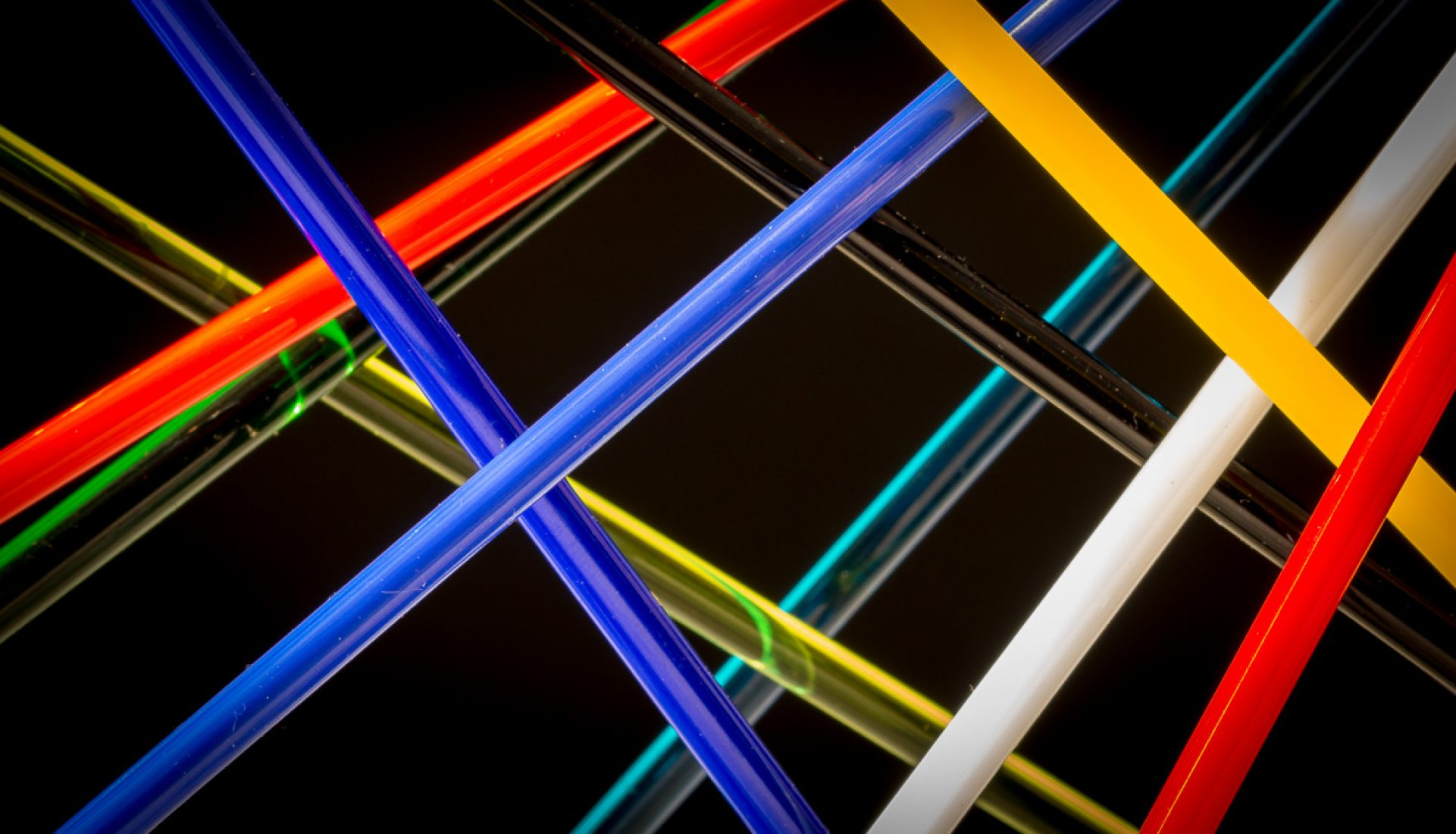Angular – Abstract with Glass Rods