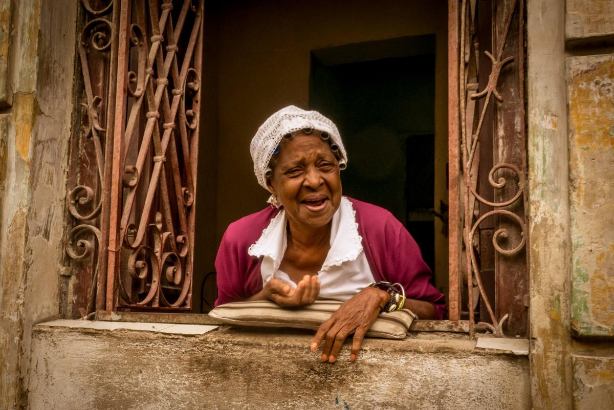Gift of Gab, Havana, Cuba