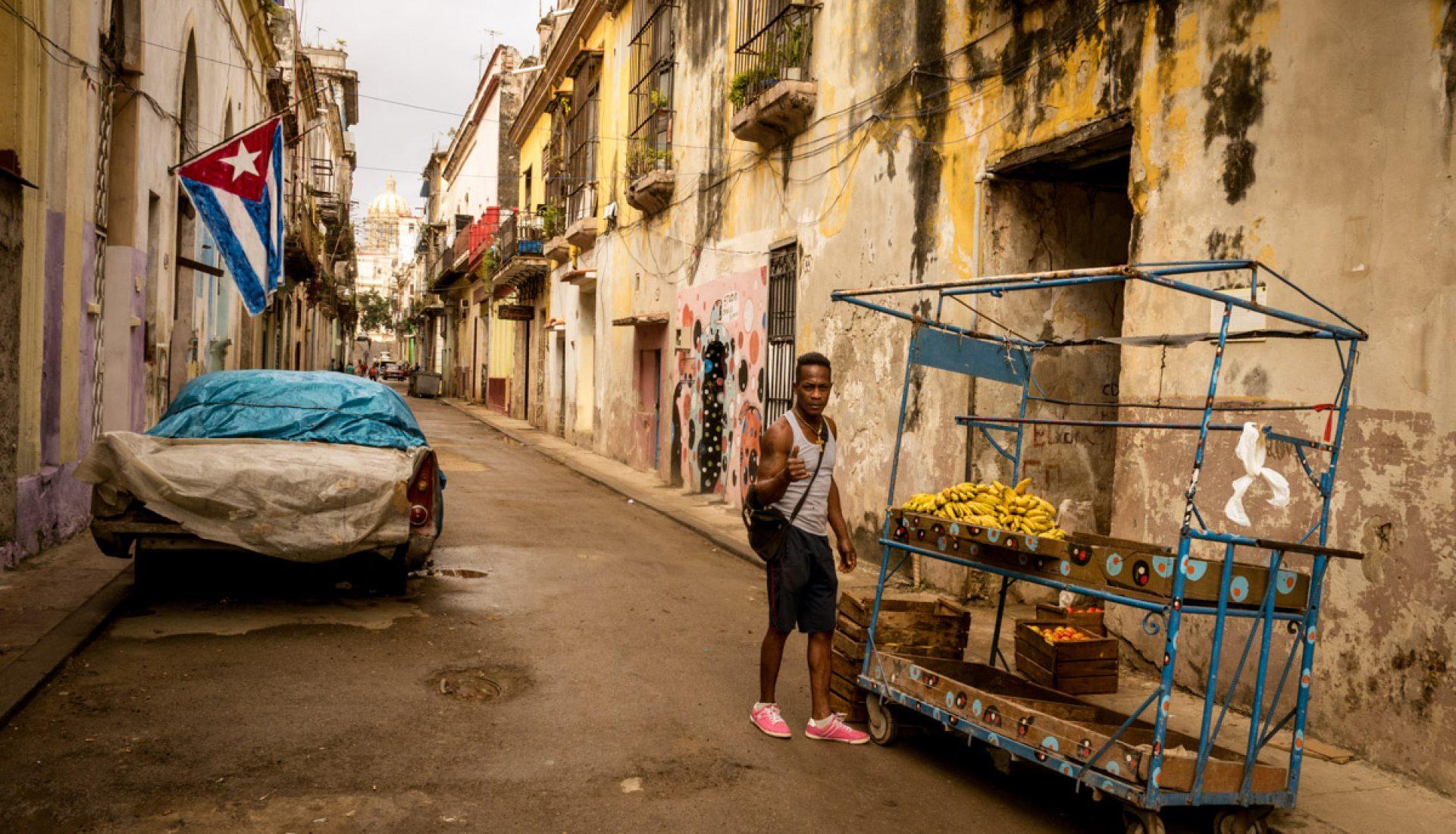 Fruit Vendor – Old Havana