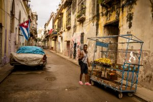 Fruit Vendor – Old Havana