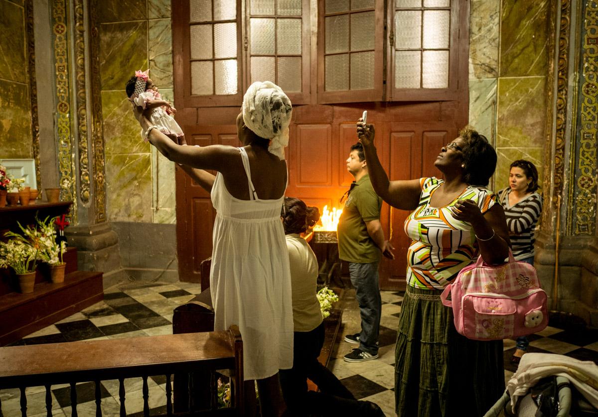 An Infant's Blessing – Old Havana