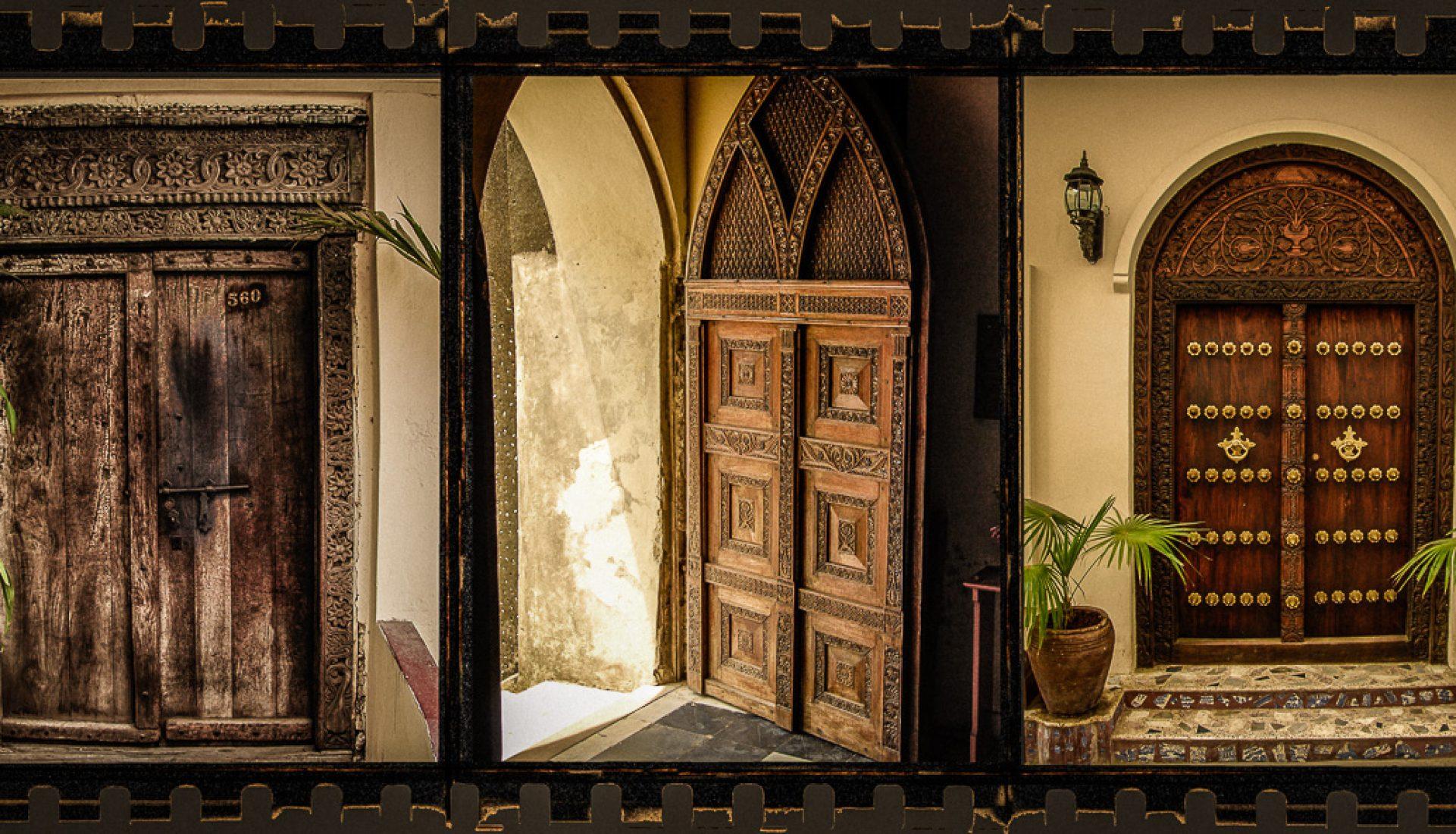 The Doors of Zanzibar – a Triptych
