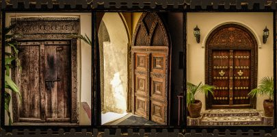 The Doors of Zanzibar – a Triptych