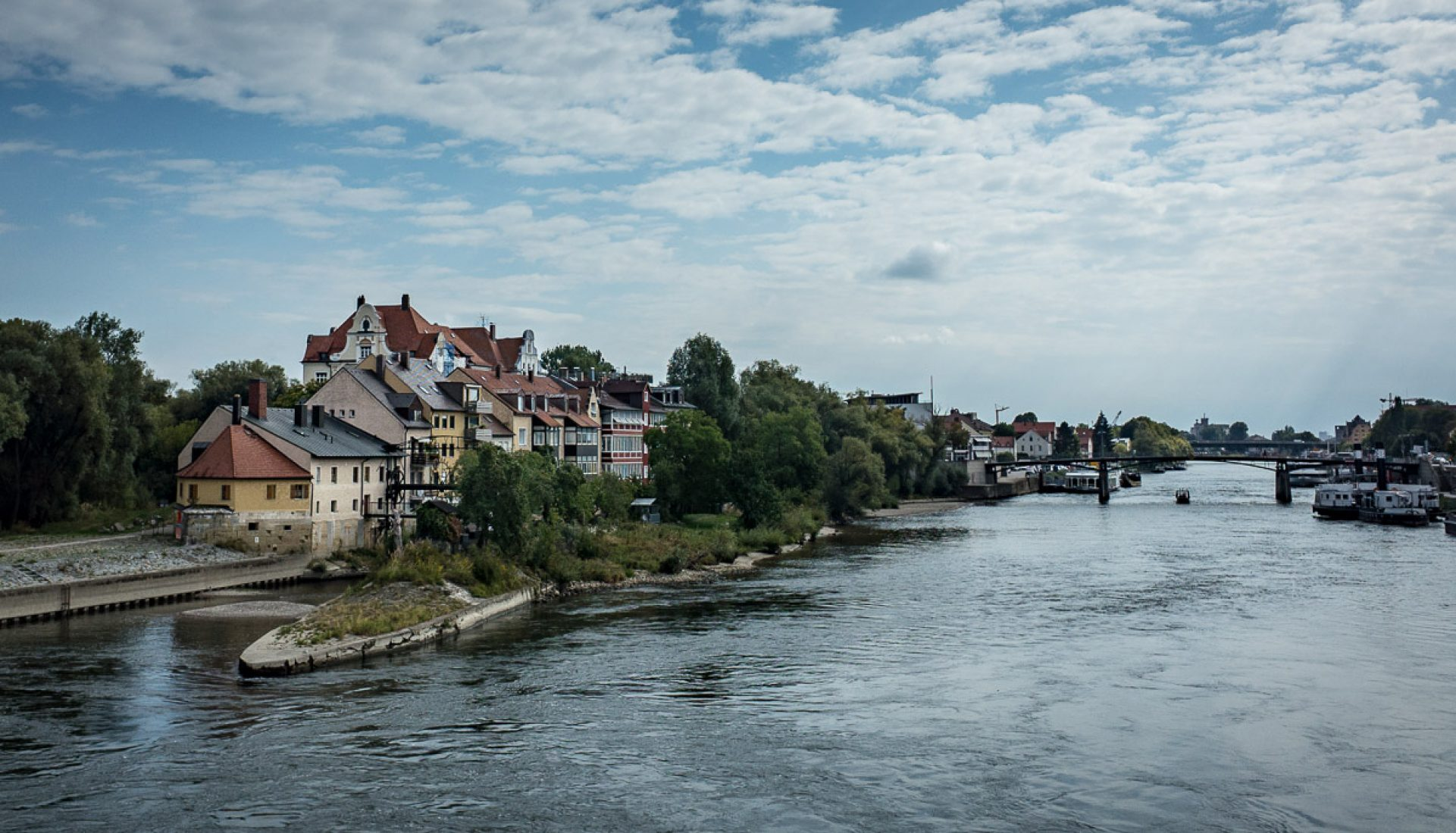 Postcard from Regensburg, Germany