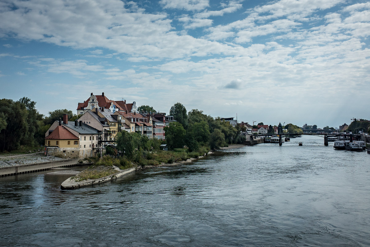 Postcard from Regensburg, Germany