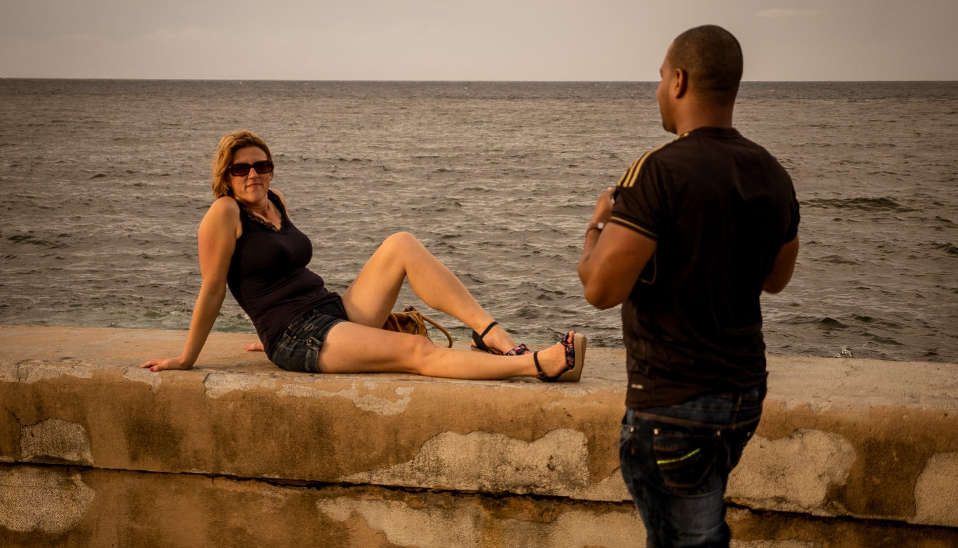Saturday Afternoon on the Malecon – Havana, Cuba