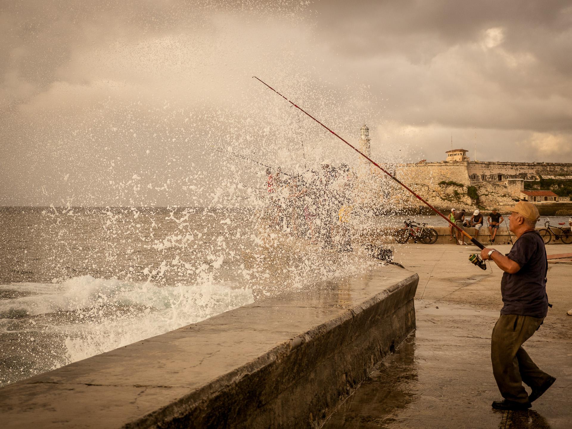 Saturday Afternoon Along the Malecon – Havana,Cuba