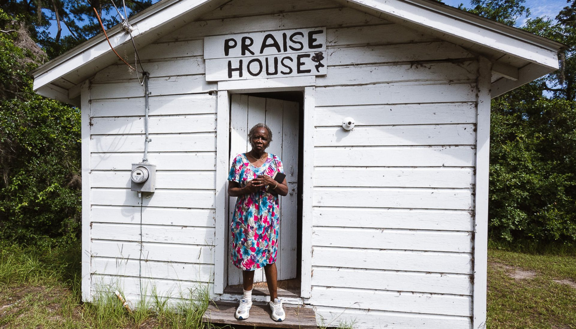 Mrs. Johnson and the Praise House