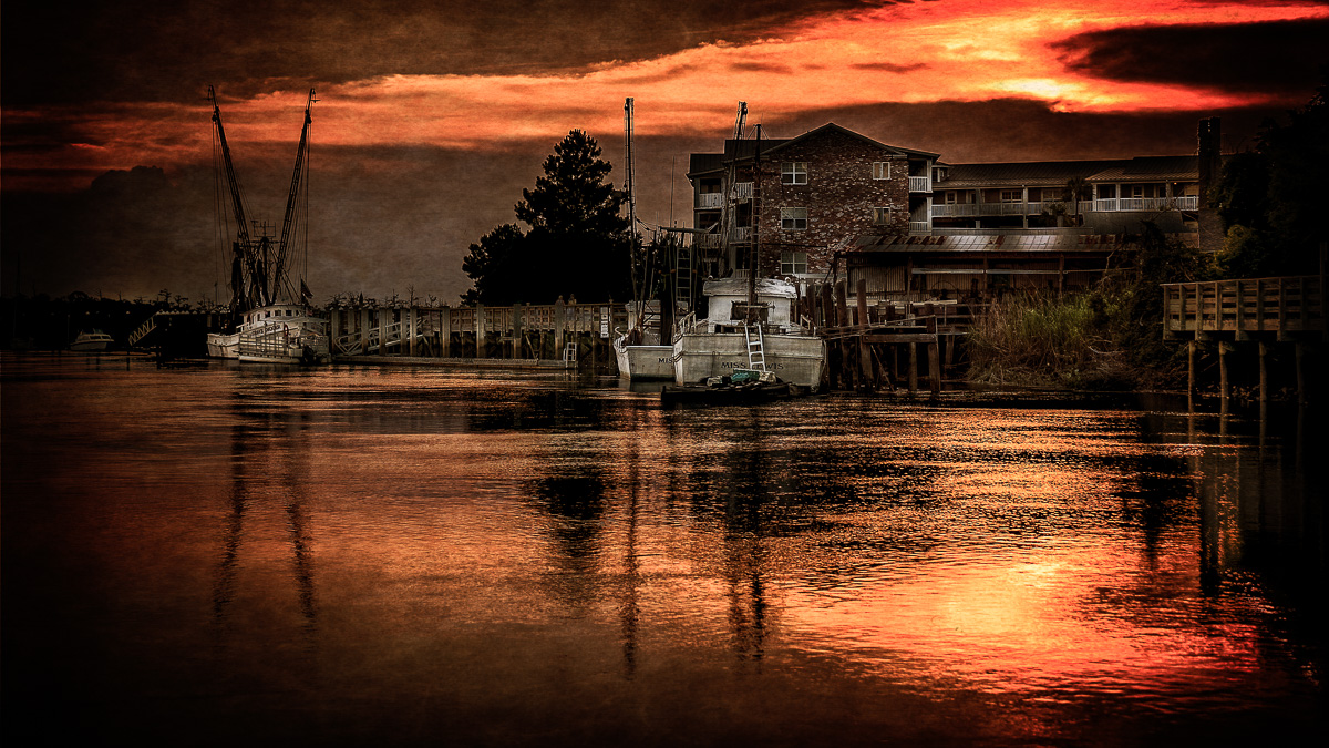 Shrimp Boat Reflections