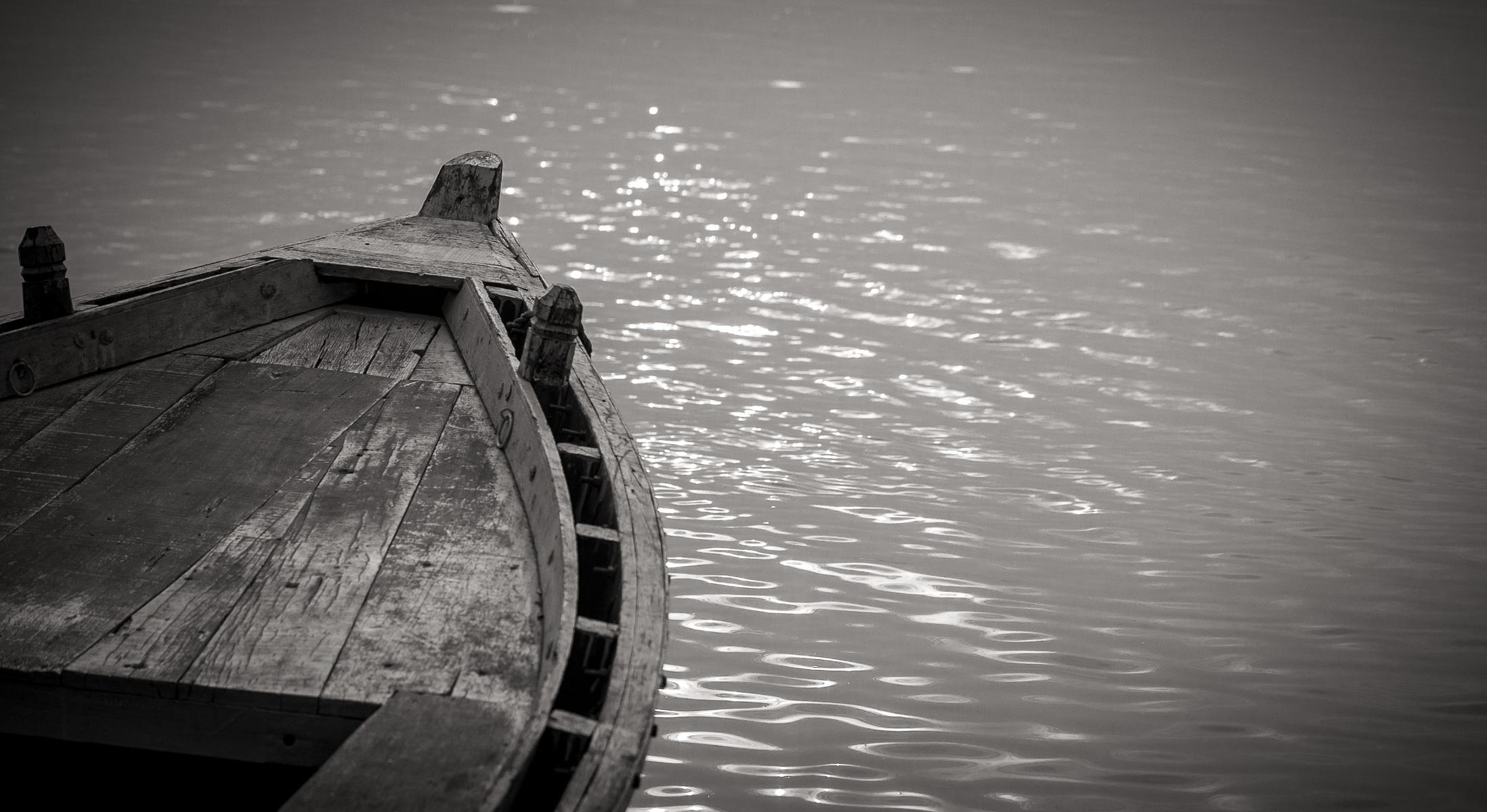 Boats on the Ganges, Varanasai