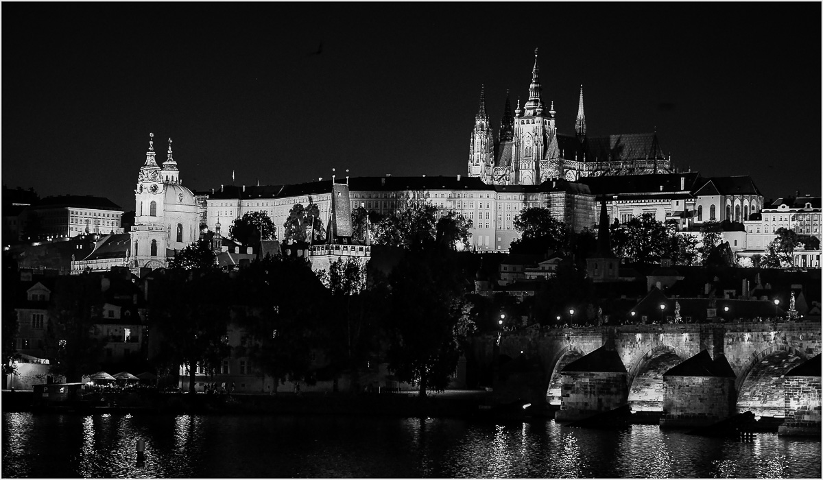 Photoessay: Prague after Dark