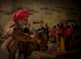 """The Observer,"" Kumba Mela Festival, India"