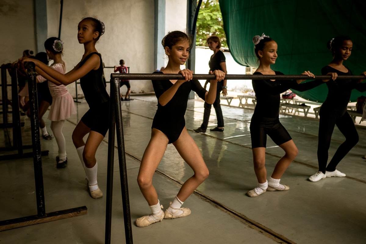 Cuban Ballerinas