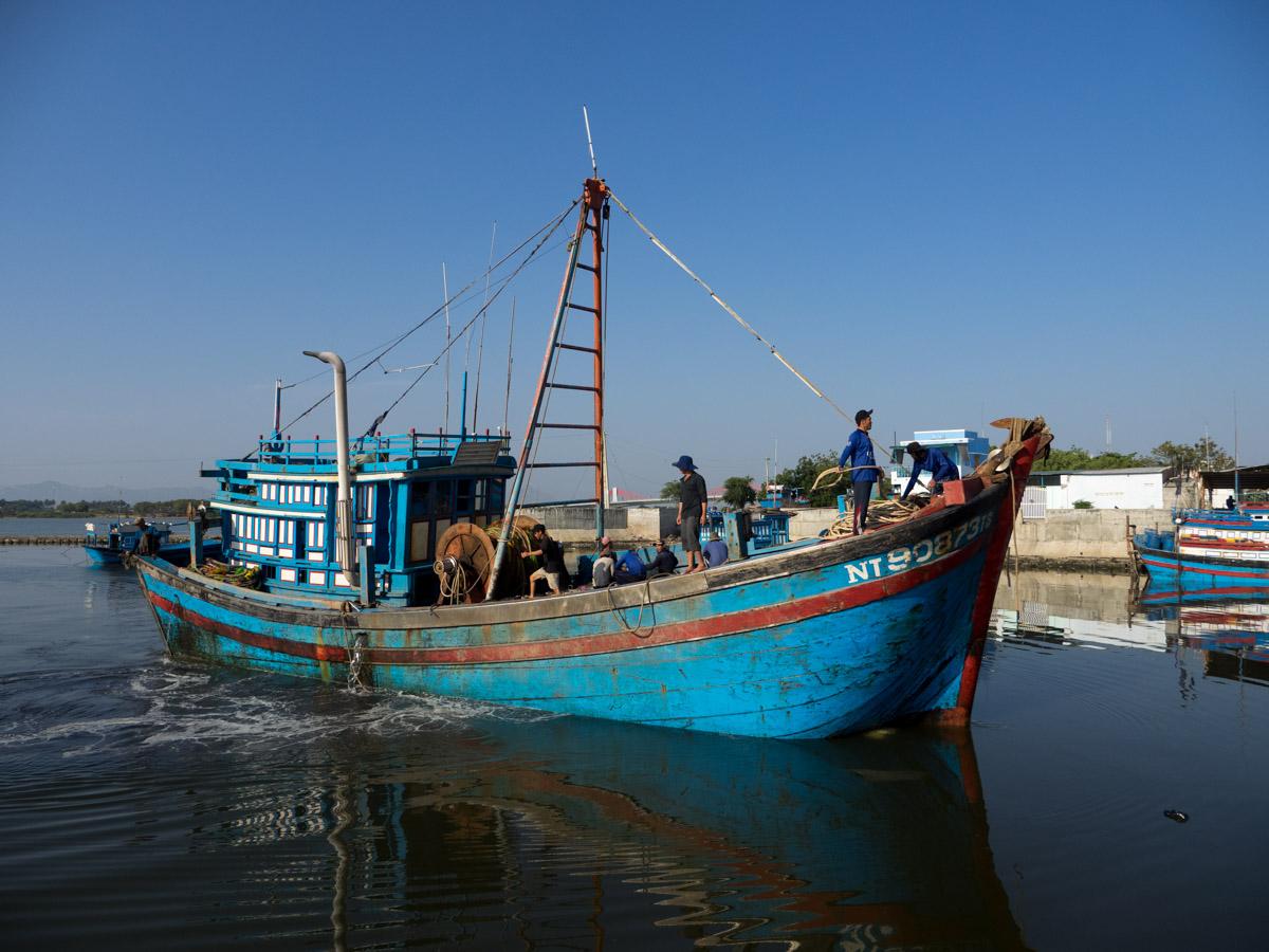 Fishing Fleet, Cam Ranh Bay, Vietnam