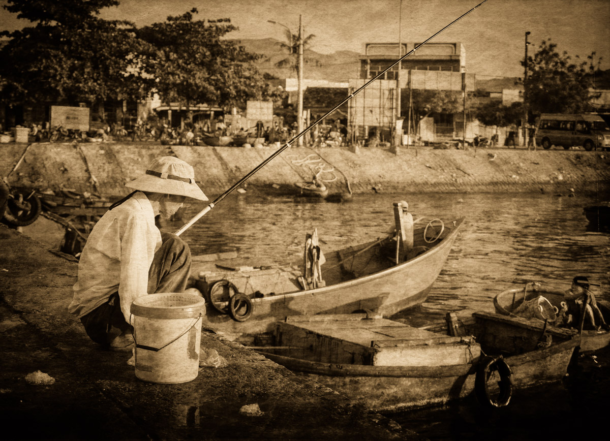 Fishing for Dinner – Cam Ranh Bay, Vietnam