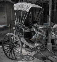 Rickshaw Pullers of Calcutta