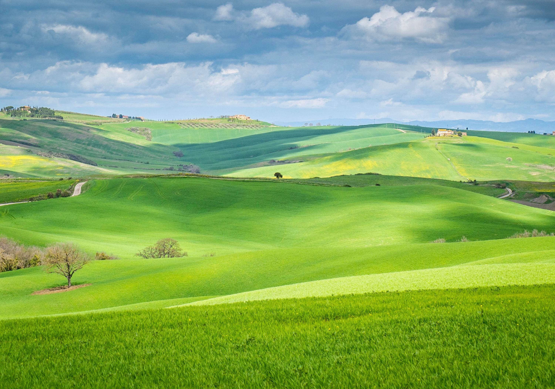 Sunday Still: Tuscan Hills Dappled in Morning Sun
