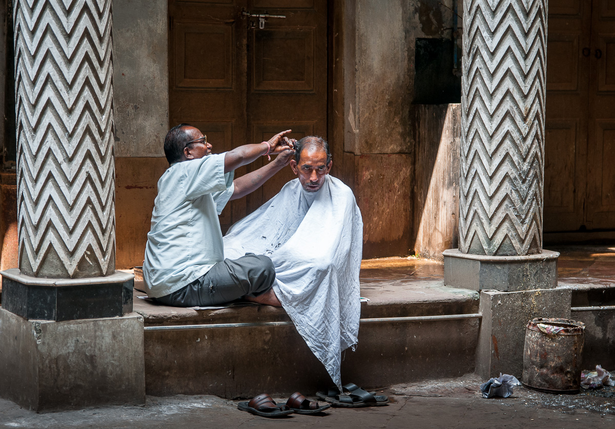 Shave and a Haircut…50 Rupees