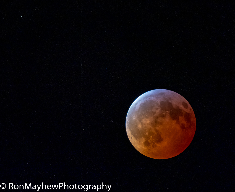 Blood Moon Lunar Eclipse 01/20/2019